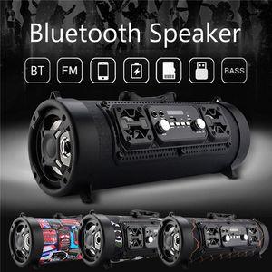 CH-M17 Tragbare 15W Große Energie Outdoor Wireless Bluetooth Lautsprecher Coole Graffiti Hip-Hop-Stil Subwoofer Unterstützung Mic / TF-Karten-Play Music