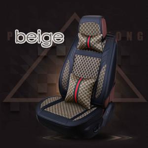 عالمي اكسسوارات السيارات التصميم الداخلي أربعة الموسم العام جميع clusive غطاء مقعد السيارة مجموعة كاملة