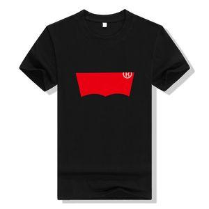 Nouveau luxe mode tag hommes T-shirt Designer bon sens Printemps Été rouge bande verte à lettre imprimée tshirt Runway Tees Casual T shirt