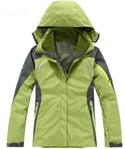 outdoor sports Ms. Mountaineering jacket 2in1 casual jacket / Fashion weatherization giacca da sci