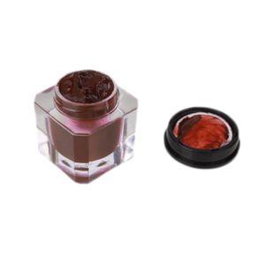 1pc 5 colori cosmetici trucco sopracciglio pomata brow definer sopracciglio trucco tinta pomata gel