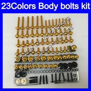boulons Carénage kit de vis complet pour YAMAHA ZG1400 08 09 10 11 ZG1400 08-11 ZG 1400 2008 2009 2010 2011 Kit boulon écrou vis Nuts Body 23Colors