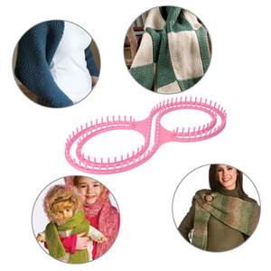 Telar de punto Knitter Board Tool con 3 proyectos para suéter Calcetines Trabajo hecho a mano Herramienta de artesanía Herramientas de costura Accesorio E5M1