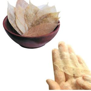 Yaprak Sabun Yıkama Eller Sabun Derin Temizleme Cilt Yağı Temizleyici Serinletici Nefisli Altın Ince Sabun 20 adet / grup
