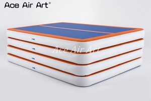 Free Shipping 8 x1x 0.2 m Gymnastics Inflatable Air Track for Yo-ga come with electric air pump