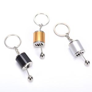 Trousseau voiture POMMEAU Type Modifié voiture Porte-clés auto Porte-clés en métal