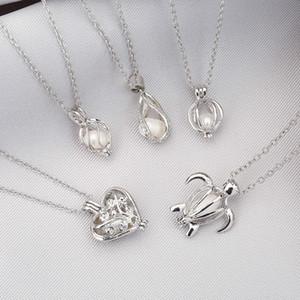 2020 Gabbie all'ingrosso di desiderio di amore Pearl Necklace Locket della collana di perle d'acqua dolce Oyster Collana SS001 Pendant