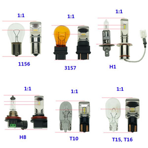 Высокая мощность с СНТ чип Автомобильные фары 1350lm Fog Lamp 1156 1157 7440 7443 3156 3357 Tail вождения лампы DRL белый 6000K psx26w