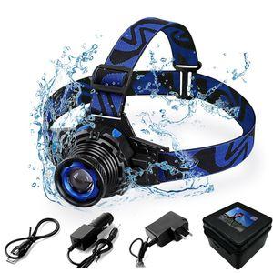 Wasserdichte Q5 LED Scheinwerfer Dreh Zoom USB Wiederaufladbare 3 modi Scheinwerfer Linternas Torch Scheinwerfer Für Auto Reparatur Camping Radfahren