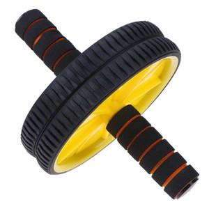 Двухколесный ролик Ab обновленный Подбрюшный тренажер оборудования пригодности спортзала ролика машина тренировки для тренера мышцы здания тела