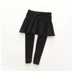 Niño niña de lana Culotte Render Pantalones Niño Niño Negro Rosa Legging Pantalones Pantalones Falda Ropa de bebé