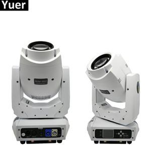 2pcs / Lot 200W LED 2EN1 RGBW faisceau / Spot Light DMX 512 Blanc Moving Head Light Bar DJ professionnel Party Afficher Stage Light