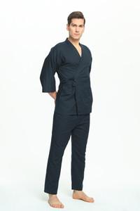 Pyjamas Hommes 100% Coton Pyjamas Japonais pour Hommes Pijamas Hombre Hommes Pyjamas Pijama Coton Hommes 356