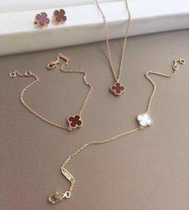 Luxuriöse Qualität S925 Sterling Silber Mini-Blumen-Anhänger Halskette mit der Natur weißer Schale für Frauen Hochzeitsgeschenk Schmuck s