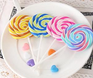 Oficina del borrador de goma de dibujos animados divertido y borradores de estudio para niños regalos lindos de la novedad de Lollipop Gomas