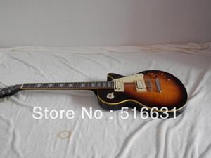 Frete grátis LP STANDARD brown guitarra elétrica com caso Difícil
