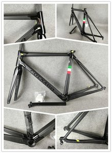 BOB Colnago لC60 C64 THRD الكربون Rahmenset الطريق الدراجة الإطار إطار كامل من ألياف الكربون دراجة C60 مع BB386 الإطار
