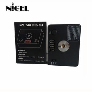 Nigel Digital 521 Tab Mini V3 Ohm Meter Resistencia Ohm Tester para DIY Cigarrillo Electrónico RDA RBA Tanque Bobina Alambre Herramienta de Vape