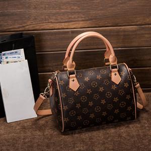 Bolso Messenger para mujer Estilo clásico Bolsos de moda Bolso para mujer Bolsos de hombro Señora Totes Bolsos Speedy 21 cm con correa para el hombro