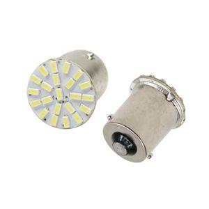 50X 1156 BA15S White LED Light Car Signal Reverse Parking Backup Lamp Lights Sourcing 3014 22SMD DC12V 10PCS