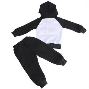 Детские дети Бэтмен одежда набор флис с капюшоном толстовка брюки костюмы Дети Детские Осень Зима одежда