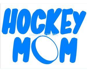 Adesivi per auto all'ingrosso Hockey Mom Car Window Sticker Decalcomania del vinile