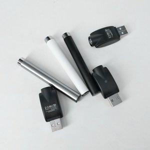 510 fil M3 batterie 350mAh batterie Buttonless avec chargeur USB Bho Pen 510 Cartouche TH205 TH210 M6T vapeur batterie Pen