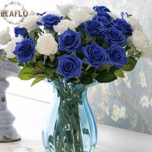 Новый Дизайн 15 шт. / Лот Искусственные Цветы Любовь Роза Шелковая Ткань Ручной Работы Для Свадьбы Home Party Декоративные Новые Горячие