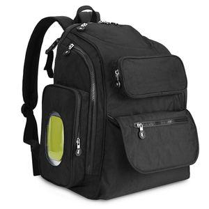 Diaper Bag Large Capacity Multifunction Backpack Separate Pockets Nursing Bag Baby Care Mummy Maternity Nappy Bag Blue Diaper Bags