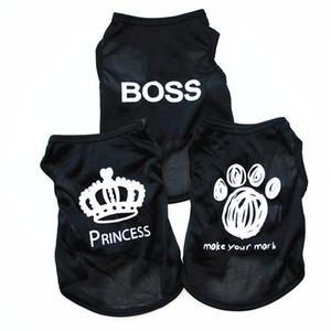 Haustier Sommer Breathable Weste Kleine Hund Katze Hunde Kleidung Baumwolle T-shirt Bekleidung Chihuahua Kleidung Hund Shirt