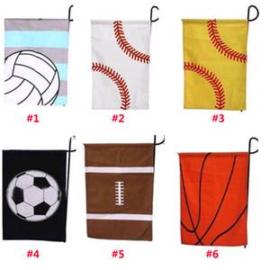 New Baseball Garden Flag Bandiere Sportive Pallone di Pasqua Bandiera Canvas Garden Outdoor Decorativo Giardino Bandiera Baseball Soccer Softball DHLShip WX9-559