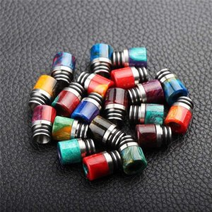Epoxy Resin SS Wide Bore 510 Drip Tip Mouthpiece for 510 Thread Smok TFV8 Baby Melo 3 Uwell Crown 1 2 3Tank