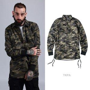 amouflage sweatshirts men high street wear pullover Men men Hip Hop Street wear wear Clothing fleece clothes