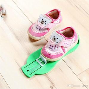 Taşınabilir Bebek Ayak Tedbir Ölçer Çocuk Ayakkabı Boyutu Ölçme Cetvel Aracı Çok Renkli Küçük Işık Roman 3 9bd cc