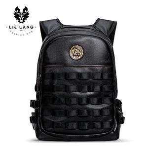 LIELANG 2018 Neue Heiße Tasche herren Rucksack Wasserdichte Tasche Mode-Trend Persönlichkeit Computer Männer Schulter Leder Männer