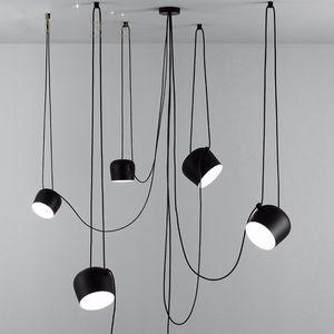 L97-scandinava di design post-moderno semplice creativo ristorante personalità lampada a sospensione Lampade a sospensione in stile industriale americana