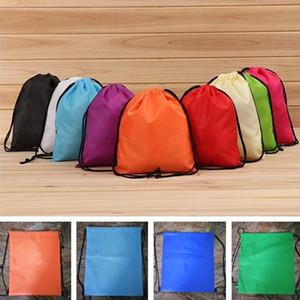 Neue maßgeschneiderte Oxford Bag Rucksack Taschen Seil Sack Werbung Werbegeschenke Kordelzug Oxford Tasche druckbare LOGO T7I511