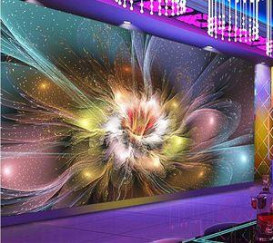 3d abstracto flor foto wallpaper para sala de estar inicio decoración de la pared paisaje tamaño personalizado murlas floral