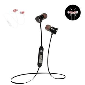 In-Ear X3 Auricular magnético Bluetooth Auricular de metal A prueba de sudor Deportes Estéreo Auriculares inalámbricos Micrófono Teléfono inteligente Universal