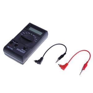 디지털 커패시턴스 측정기 테스터가 내장 된 휴대형 고정밀 멀티 미터 LCD 디스플레이는 방전 할 필요가 없습니다.