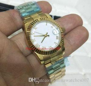 Frete grátis Deluxew Ms. 179178 31mm aço inoxidável Ásia 2813 Sports 18k Gold Automatic Mechanical Women's Watch