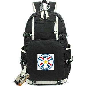 Zaino Paraguay APF State Day Pack da giorno Atletica borsa da calcio football Calcio packsack Zaino per laptop Sport zainetto Porta fuori porta zainetto