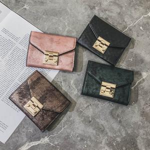 Le borse del portafoglio delle donne del progettista delle donne cortocircuitano i raccoglitori dell'inarcamento del supporto della carta di credito della borsa della moneta femminile Trasporto libero