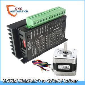 Nema17 Stepper Motor 42 모터 TB6600 4A 9-42V 스텝 모터 드라이버 NEMA17 17HS4401 CNC Lase 3D 프린터
