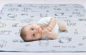 Summer cool babyice fiber mat baby Urine pad waterproof breathable washable newborn mattress nursing pad S007