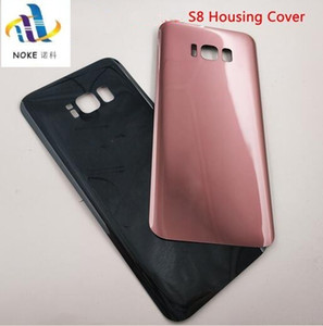 SAMSUNG Galaxy S8 için arka Cam S8 Artı G950F G955F Arka Pil Kapağı Kapı Arka Konut Case Değiştirme