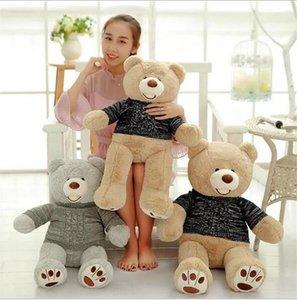 Lovely Bear Doll Brinquedos Para Valentine's Teddy Bear Relleno Y Felpa Muñeca Suave Felpa Juguetes Para Niños Muñeca Rellena Con Un Suéter