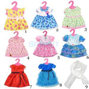 Toptan Satış - 18inch American Girl Bizim Nesil Doll Journey Girl Dolls Toptan-Moda Coloful Elbise Eşarp Giyim Aksesuar