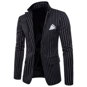 NUEVA chaqueta de la marca de moda para hombre de estilo británico chaqueta de traje Slim Fit masculino Blazers hombres abrigo Terno Masculino Plus tamaño 4XL