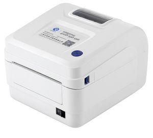 Impresora de etiquetas de envío de 104 cm de ancho Impresora de código de barras térmica de grado comercial directo Impresora de códigos de barras de 150 mm / s de velocidad LLFA